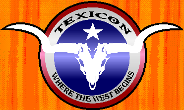 texicon logo fort worth texas 24hr table-top game convention